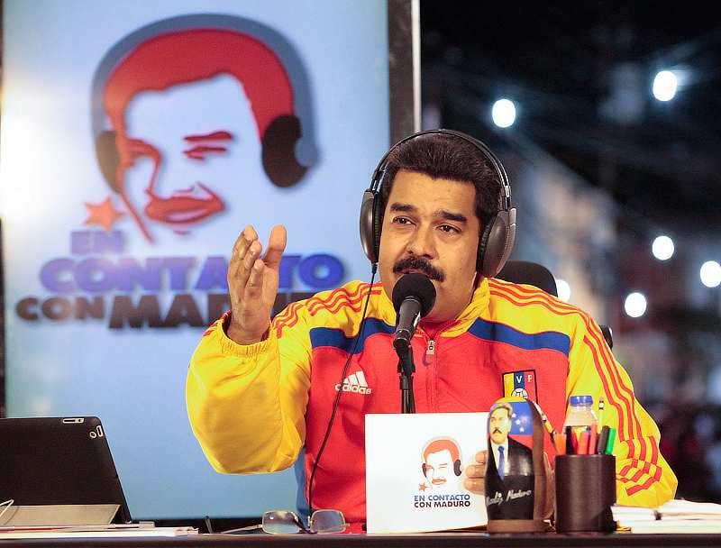 El Presidente de la República, Nicolás Maduro, en la edición número 12 de su programa semanal En Contacto con Maduro.