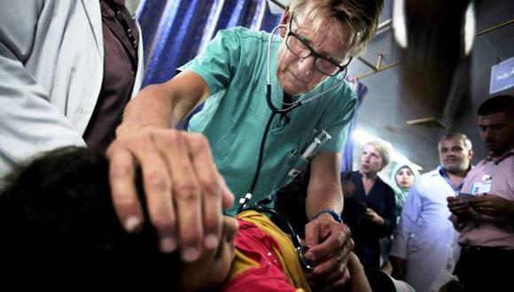 Mads Gilbert, médico noruego en Gaza