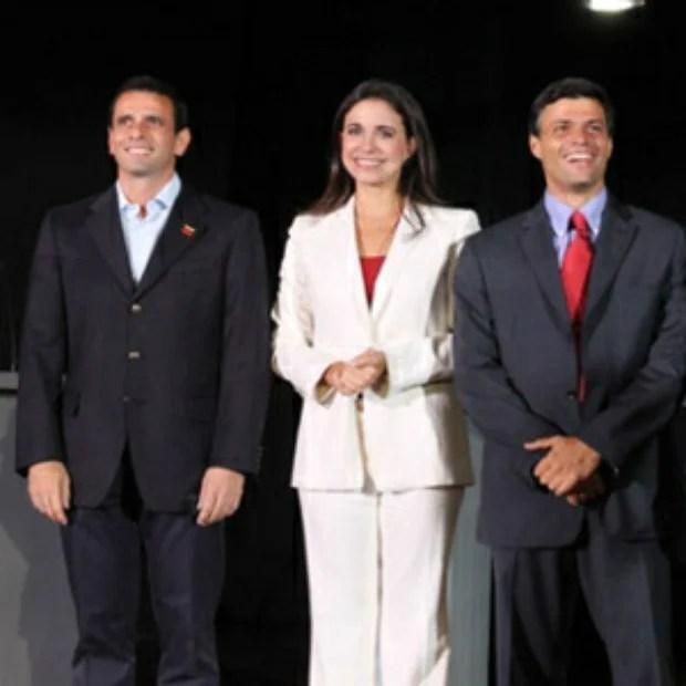 """La figura de López crece en la oposición mientras que el liderazgo de Henrique Capriles a nivel nacional aparece mucho más claro, pero el dato más importante es que el 43% de los venezolanos no reconoce a ningún líder de la oposición""""."""