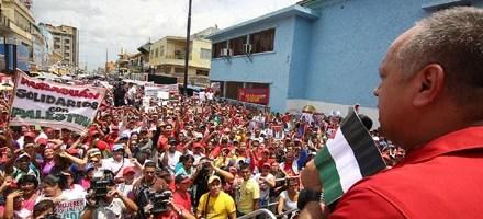Diosdado CABELLO SE PRONUNCIÓ SOBRE PALESTINA EN aNZOATEGUI
