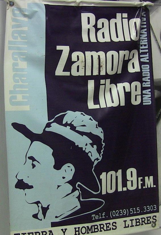 Cabalgando por América en Radio Zamora Libre 101.9 FM