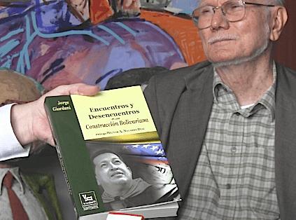 """Jorge giordani, nos presenta su más reciente libro """"Encuentros y Desencuentros en una Construcción Bolivariana"""" con prólogo de Héctor Navarro y editada por Vadell Hermanos"""