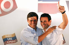 Leopoldo López y Henrique Capriles, representantes de la oposición venezolana