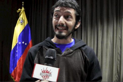 Camilo Arrasa de Médicos del Mundo, de Chile en el II Taller de Verano, Geopolítica en América Latina