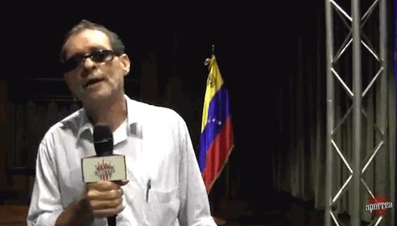 Ramón Martinez de Colarebo en el II Taller de Verano, Geopolítica en América Latina