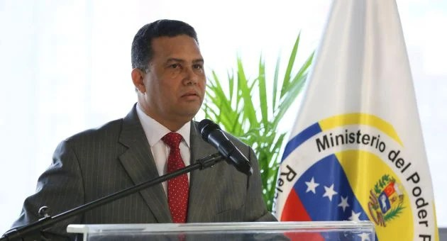 El ministro del Poder Popular para Interiores Justicia y paz, Gustavo González López