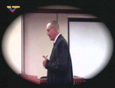 Franklin Nieves en el juicio de Leopoldo López