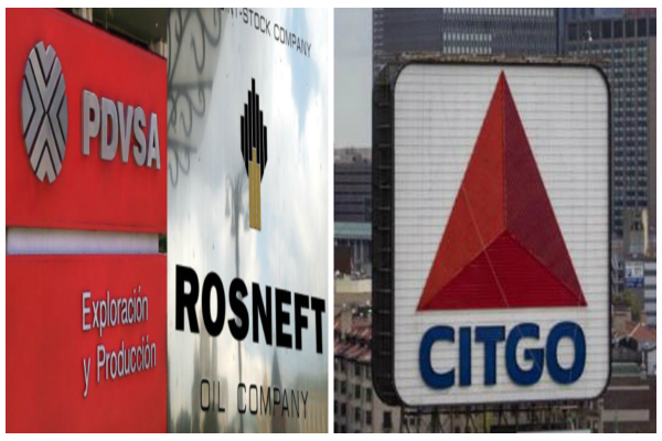 Pdvsa Rosneft y Citgo