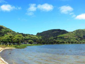 Lagoa das Sete Cidades - no solo
