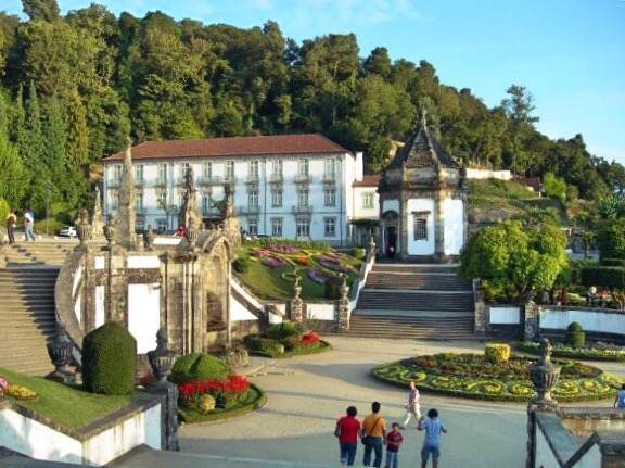 Gardens at Bom Jesus do Monte sanctuary