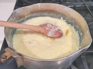 Arroz doce: step 8