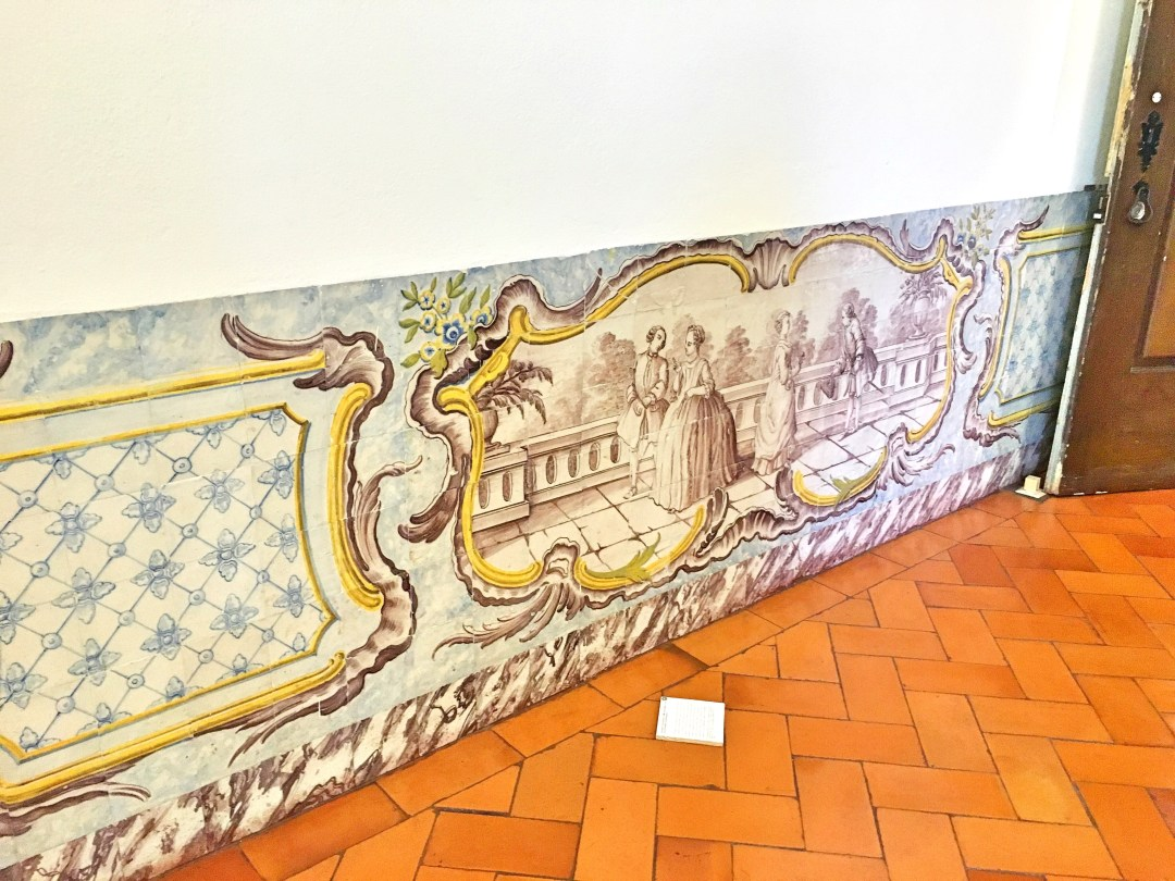 Tiles Palace Marquis of Pombal