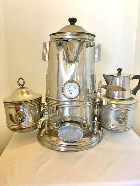 Antique coffee machine