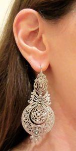 Ana Silver Earrings 3
