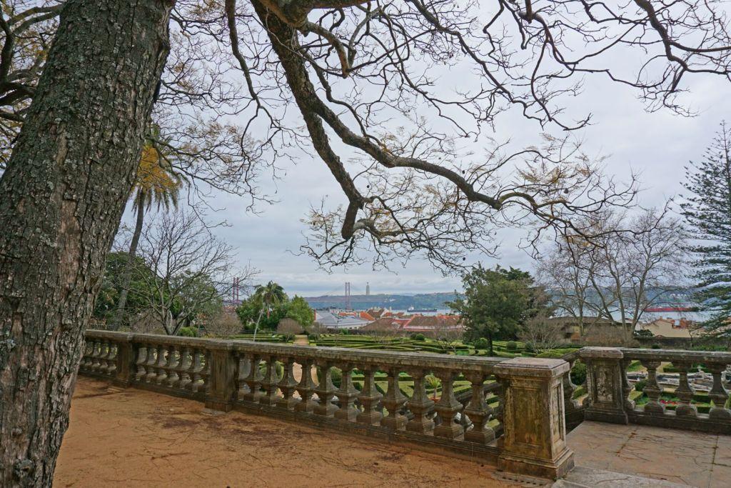 Views at the Jardim Botânico da Ajuda