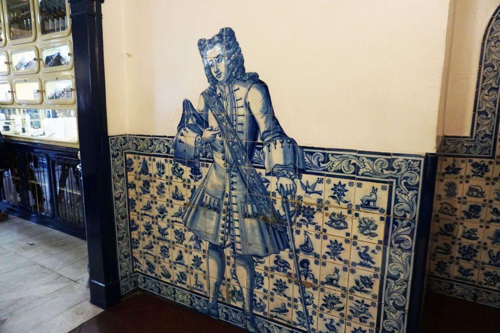 Azulejos at Pasteis de Belem