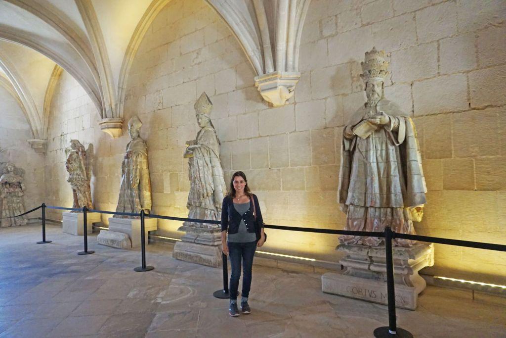 Alcobaça Monastery statues