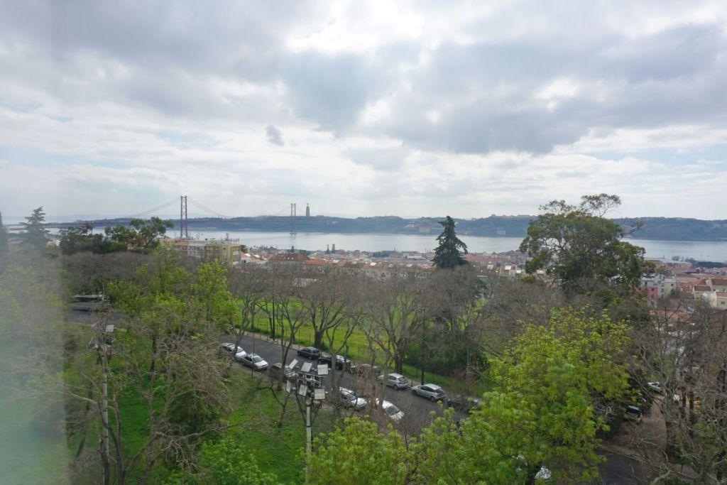 View from Palacio Nacional da Ajuda
