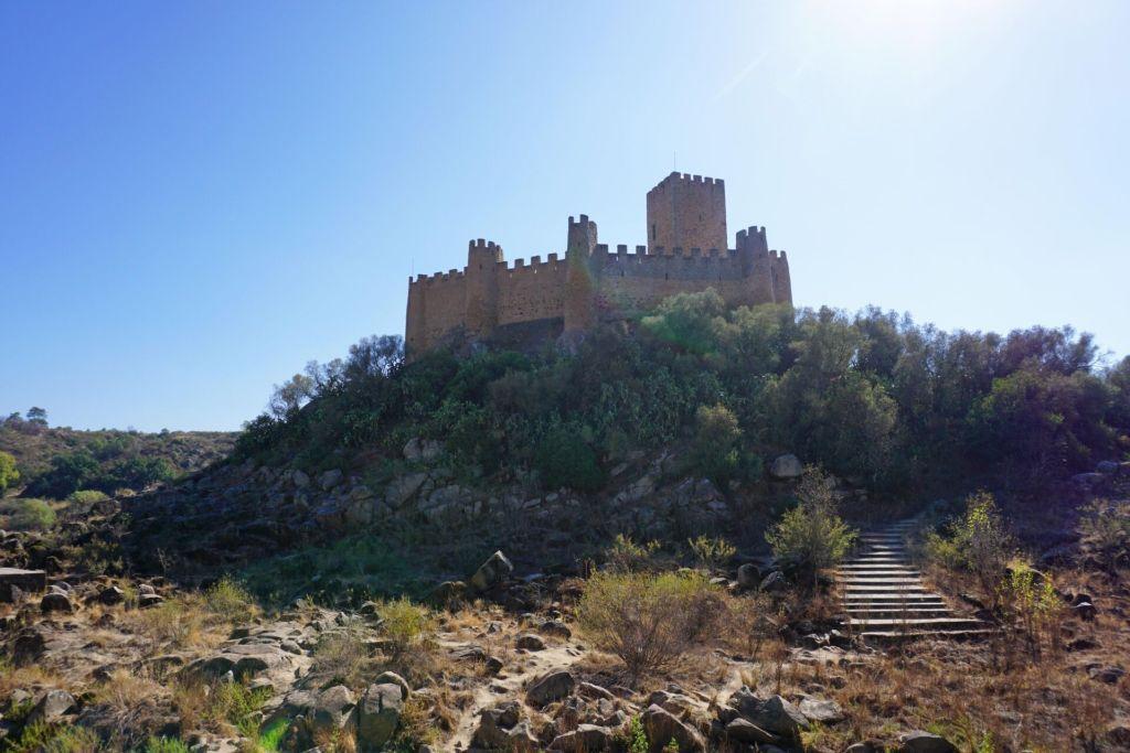 Castelo de Almourol du pays