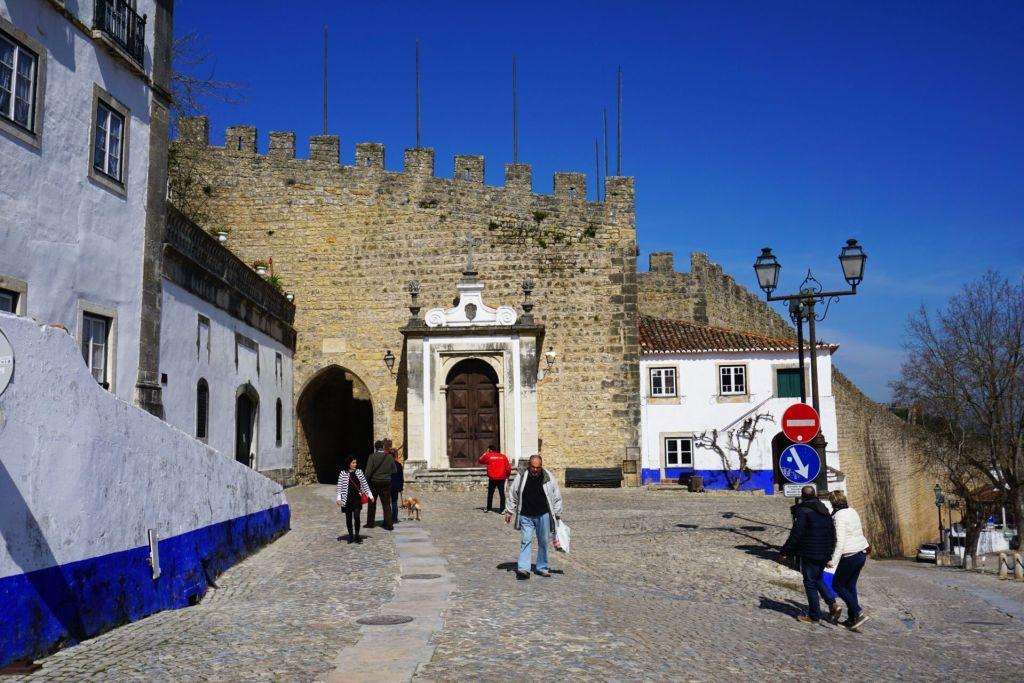 Obidos town walls