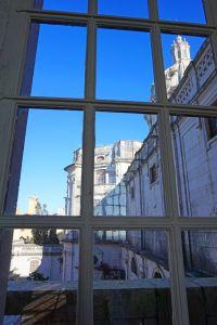 Palácio Nacional de Mafra window