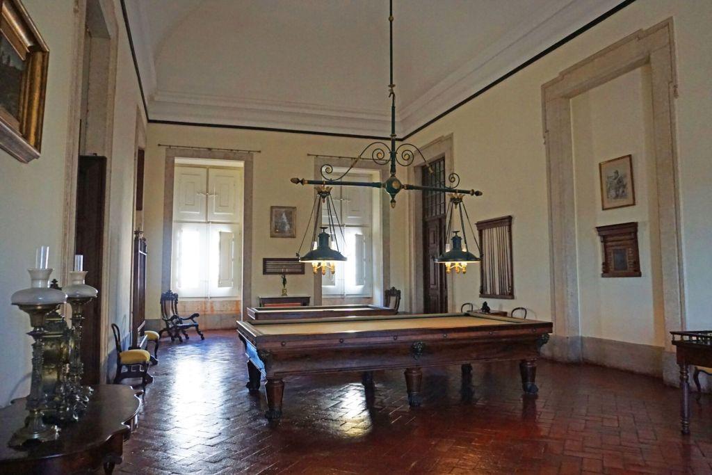 Billiards room Palácio Nacional de Mafra