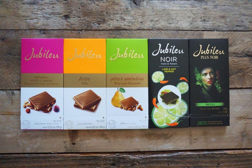 Jubileu chocolates