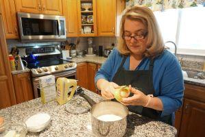 Maria Lawton queijadas de leite prep