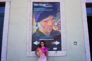 Outside Van Gogh Alive