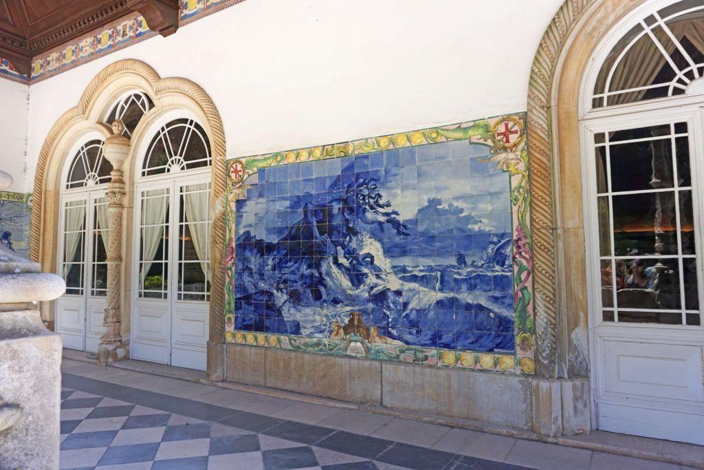 Azulejos Buçaco palace hotel