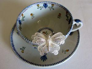 Daniela Butterfly Silver Ring 1
