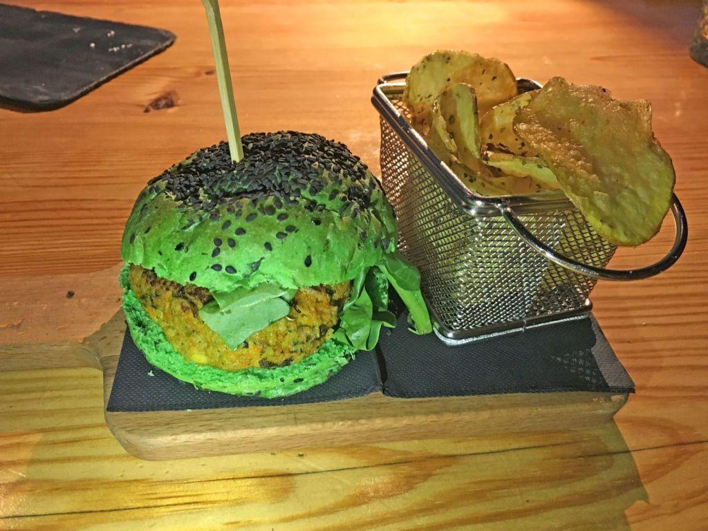 Veggie burger Topo