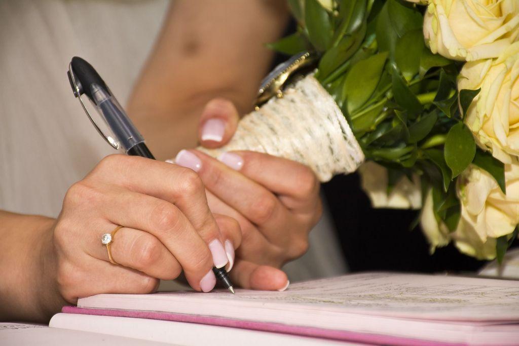 Marriage - name change
