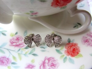 Sara earrings silver 3