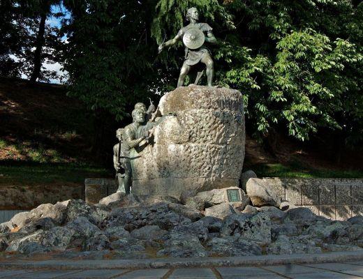 Statue of Viriato Viseu