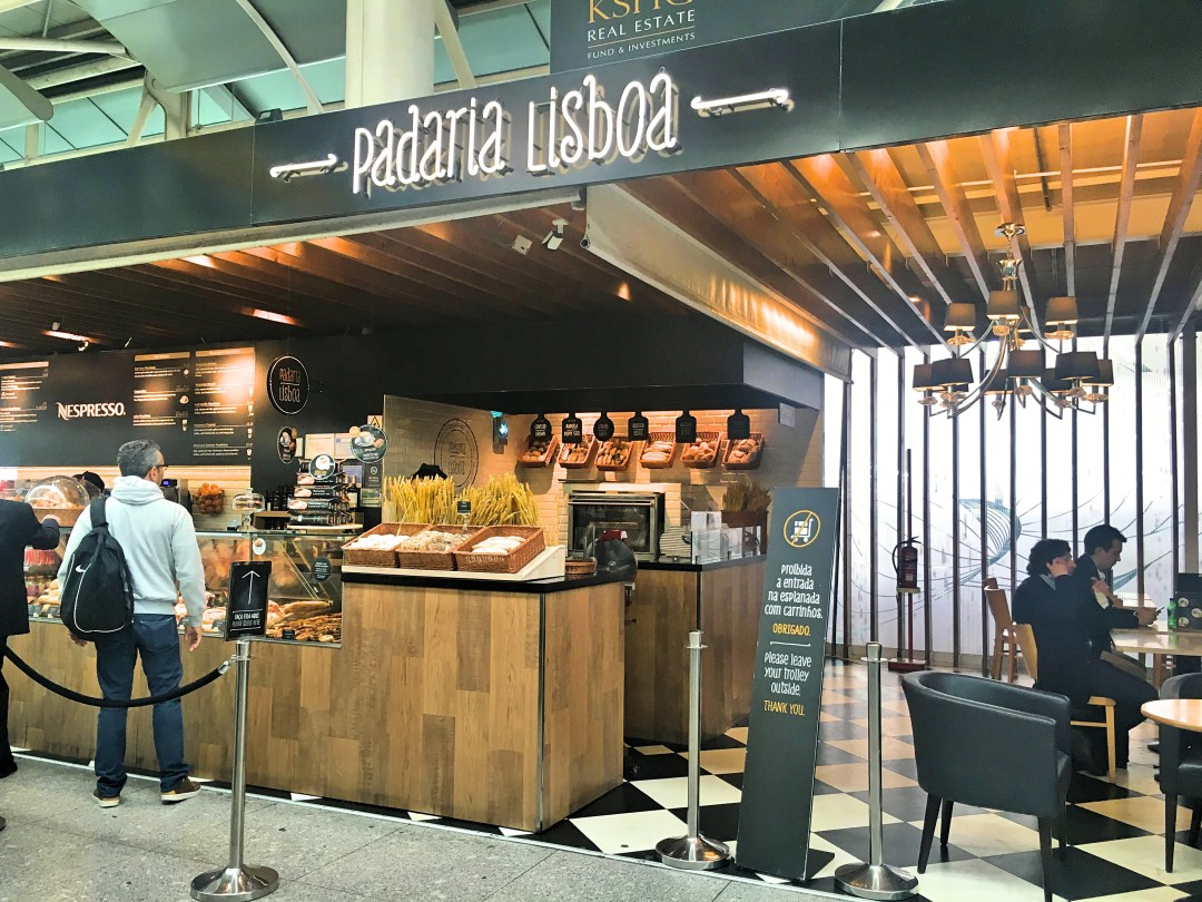 Padaria Lisboa aeroporto