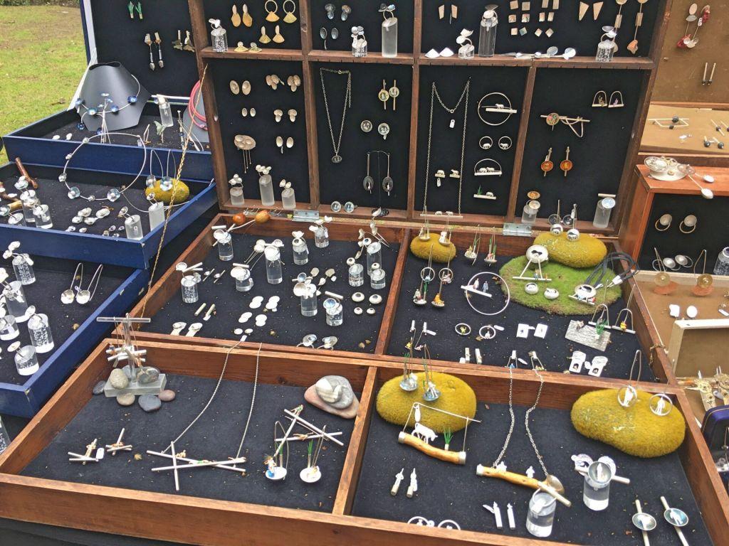 Unique jewelry at Crafts & Design