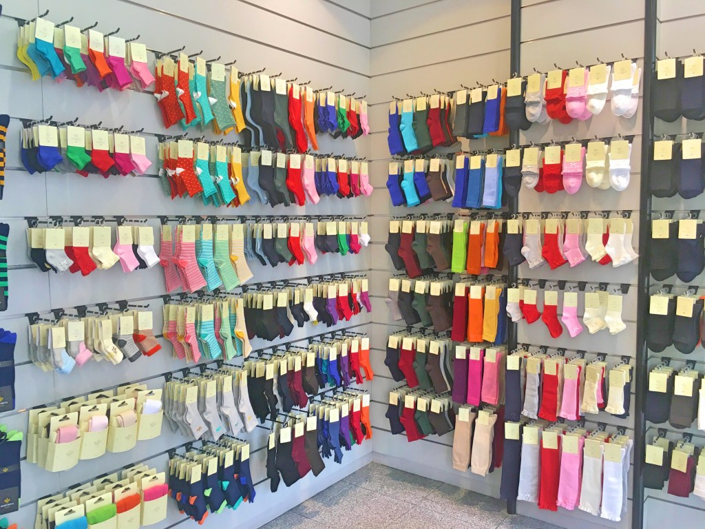 Baby socks at Pedemeia