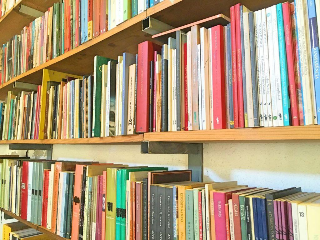 Book close up at Ler Devagar