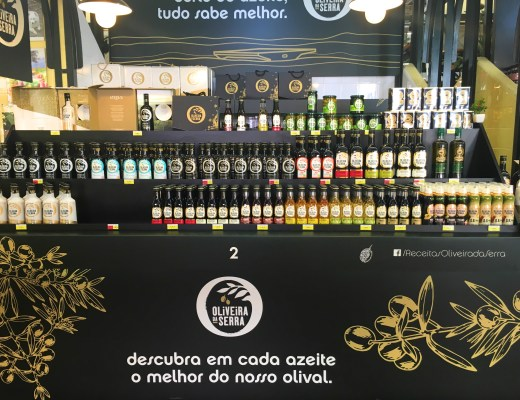 Olive oil at Mercado de Campo de Ourique