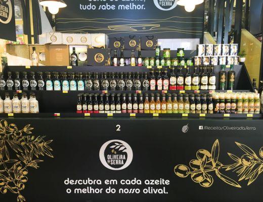 Olive oil at Mercado de Campo de Ourique