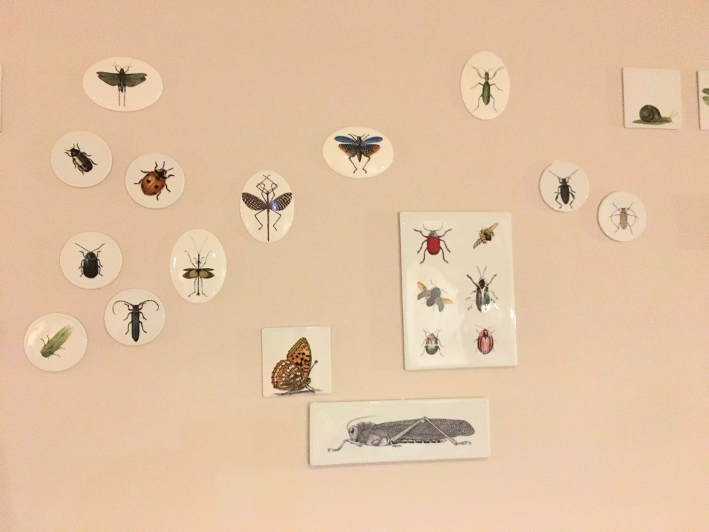Insect art by Vista Alegre