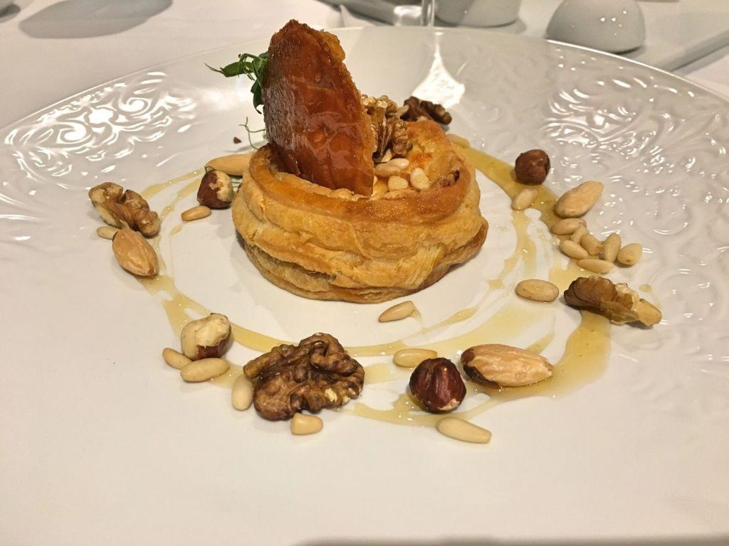 Puff pastry restaurant Montebelo Vista Alegre