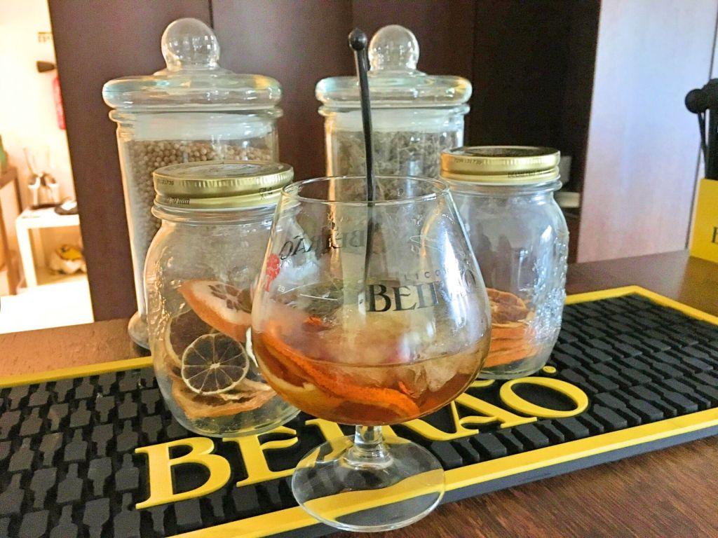 Licor Beirão cocktail