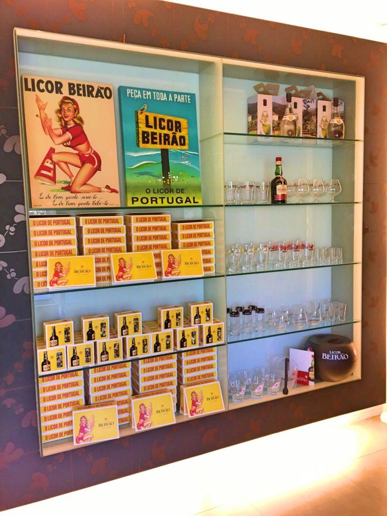 Licor Beirão gift shop