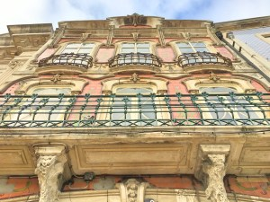 Aveiro Art Nouveau facade
