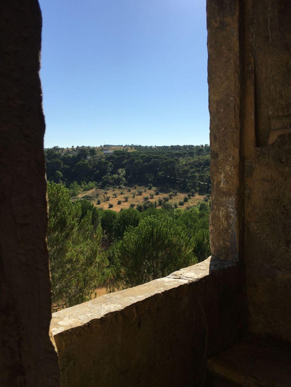 Aqueduto dos Pegoes - window
