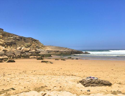 Praia das Maçãs beach