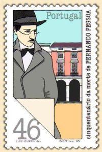 Pessoa stamp 2