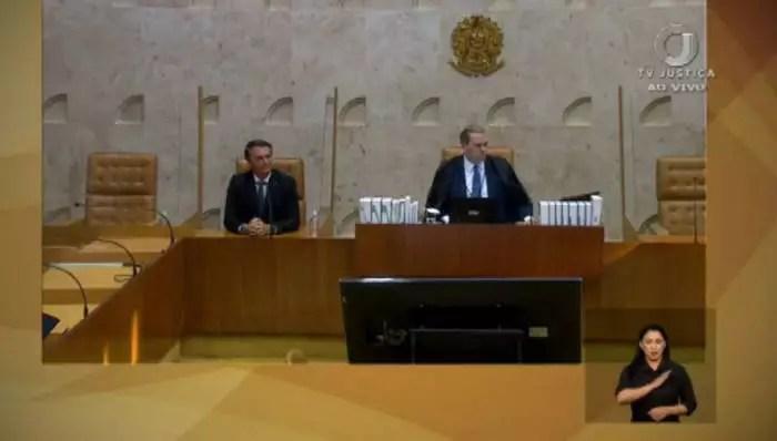 VÍDEO: Sem ser convidado, Bolsonaro vai ao STF e pega ministros de surpresa. Assista.